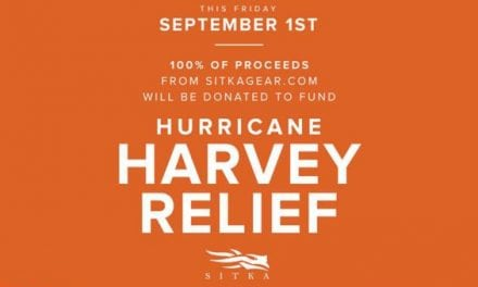 Sitka Pledges to Donate 100% of Proceeds on Sept. 1st to Hurricane Harvey Relief