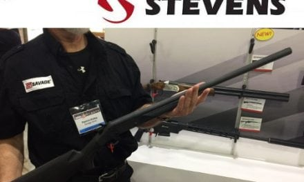 Stevens Unveils New 301 Single-Shot Shotgun