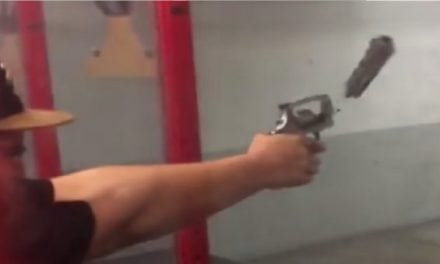 S&W Revolver Blows Up in Shooter's Hands on Video