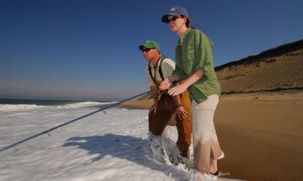Fall Fishing on the Beach