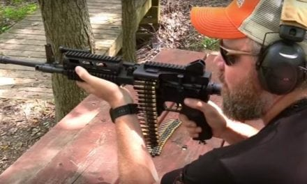 This Belt-Fed AR-15 is Sickeningly Awesome