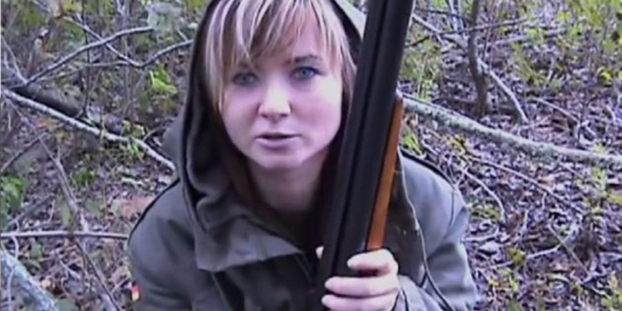 This Huntress Just Loves to Squirrel Hunt