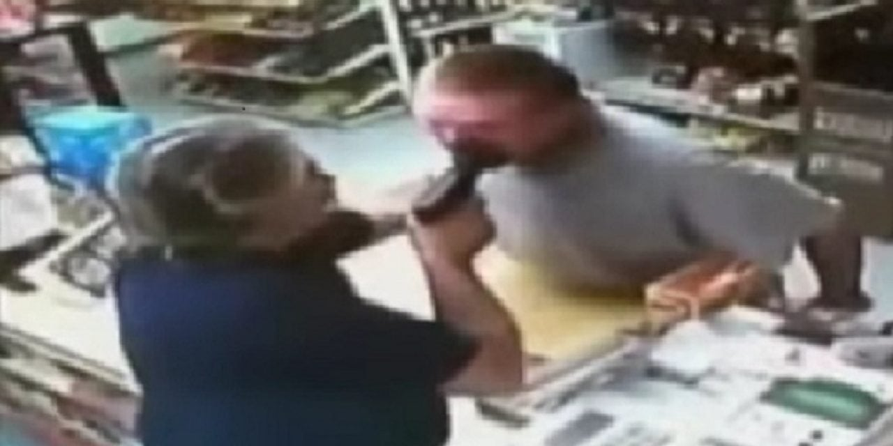 Attempted Robbery Thwarted By War Veteran Grocery Store Clerk