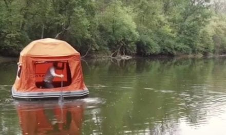 Camping In a Tent On Water? Now You Can