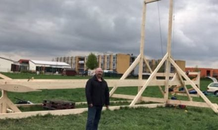 Check Out The Biggest Slingshot Ever