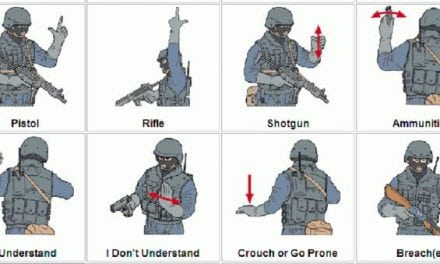 Check Out This Infographic of Sniper and SWAT Hand Signals