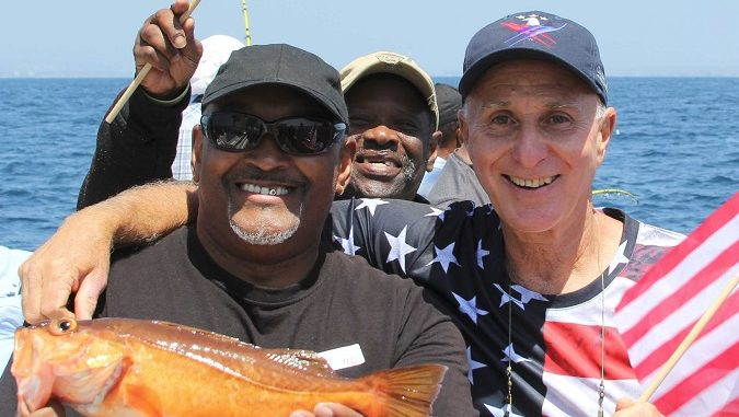 Fishing program gives veterans a day on the ocean