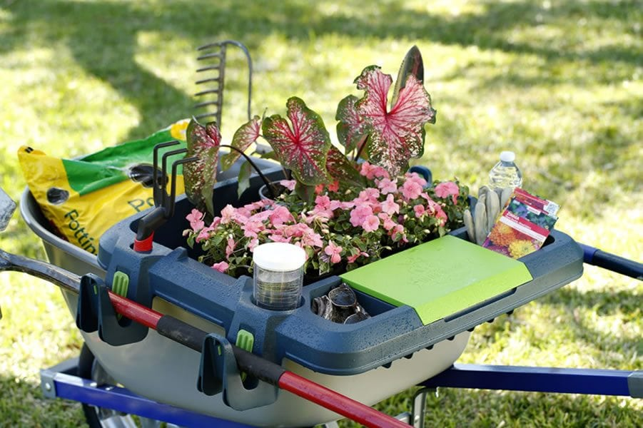 Original Little Burro Wheelbarrow Organizer