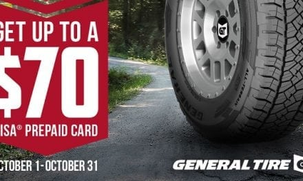General Tire Promotion: Offers Up To $70