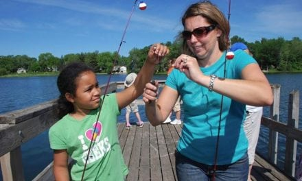How to keep kids hooked on fishing?
