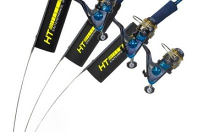 HT's Wind Jigger Rod Holder Is A Must For Your Ice Basket This Season