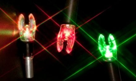 Nockturnal's Universal Fit Lighted Nocks: Red, Green, and Strobe