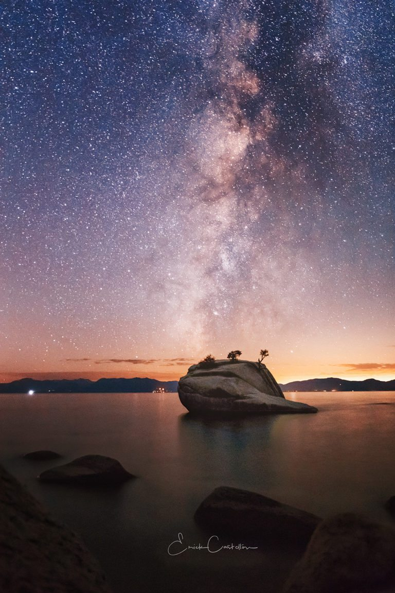 "Today's Photo Of The Day is ""All Along The Star Tower"" by Erick Castellon. Location: Sand Harbor, Nevada."