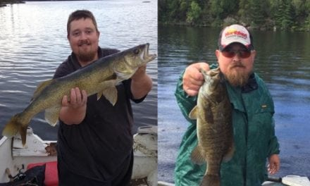 Pokegama Lake and a Tip On Early Fall Walleyes and Smallies