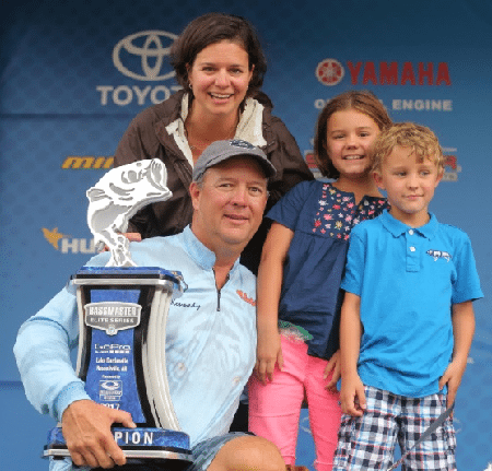 Steve Kennedy Keeps Pace And Wins Bassmaster Elite At Dardanelle