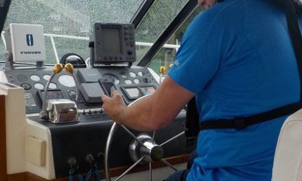 "The Five Seconds That Can Get a Boater Into Trouble – ""Reading a text"""