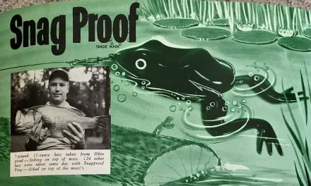 The Innovators of the First Hollow-Bodied Frog …… Snag Proof Lures