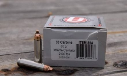 The Underwood .30 Carbine Xtreme Cavitator Ammunition is Wicked Awesome