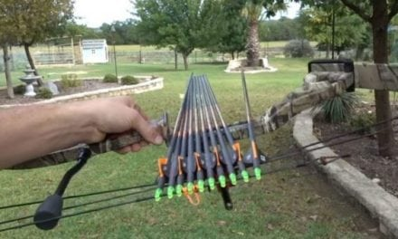 Video: Can You Actually Shoot 10 Arrows at Once?