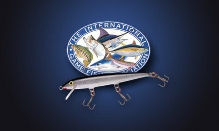 14 IGFA WORLD-RECORD FALL TO RAPALA LURES