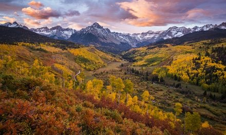 Autumn Sunrise Over Sneffels Range
