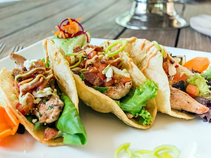 Grilled Pheasant Tacos