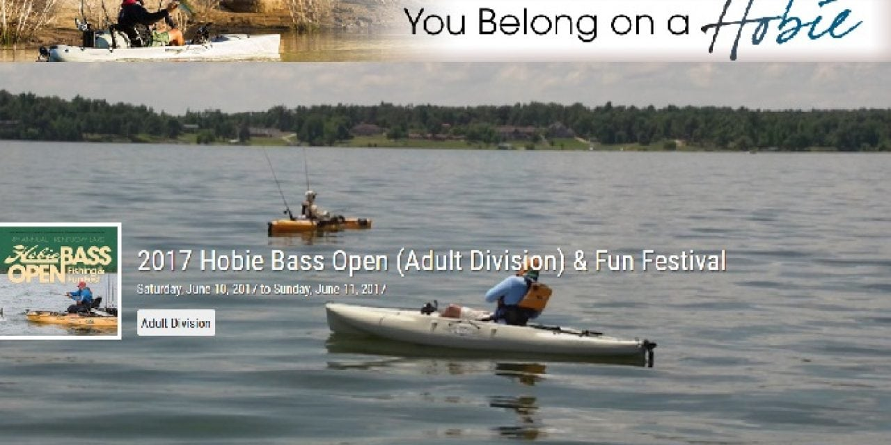 Hobie Bass Open Quickly Approaching