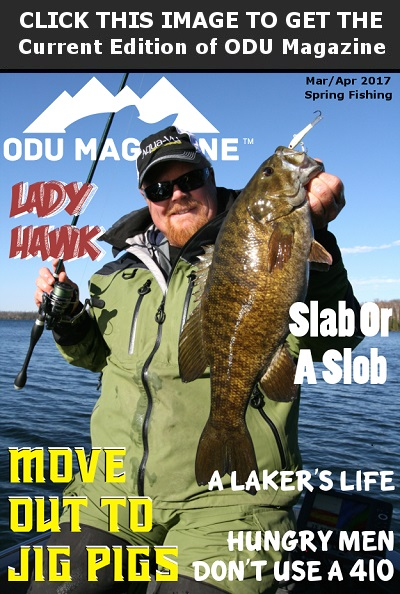 ODU Magazines Early Spring Fishing 2017 Edition Is Now Available