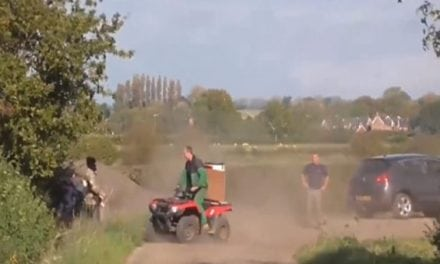 Hunt Saboteurs In England Trespass On The Wrong Farmer's Property