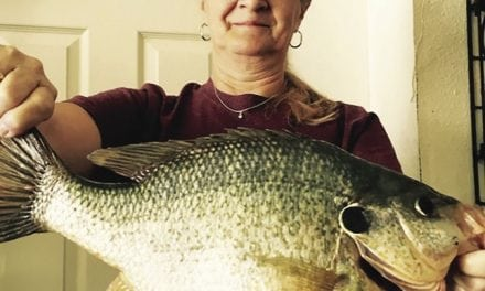 Man catches bluegill suspected to be close to a record