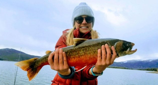 New Colorado Arctic Char Record Caught by Vacationing Virginia Woman