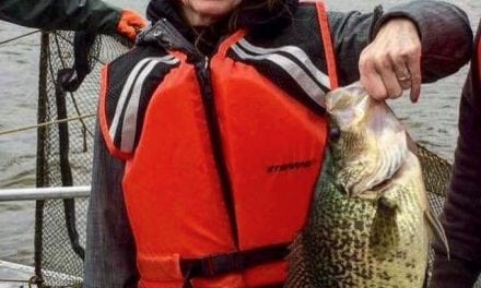 Pennsylvania State Record Black Crappie Caught