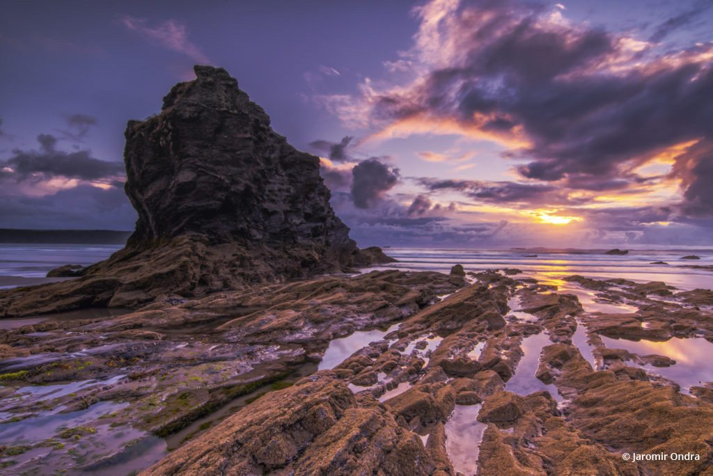"""Today's Photo Of The Day is """"Sunset in Wales"""" by Jaromir Ondra. Location: Broad Haven Beach, Wales, Great Britain."""