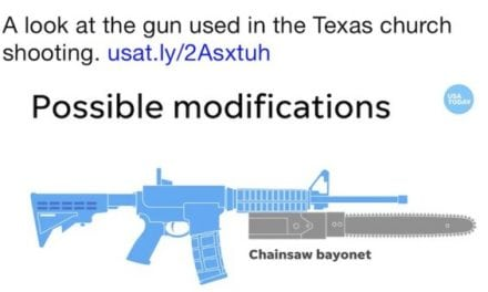 The Ridiculous Chainsaw Bayonet Video By USA Today Broke The Internet