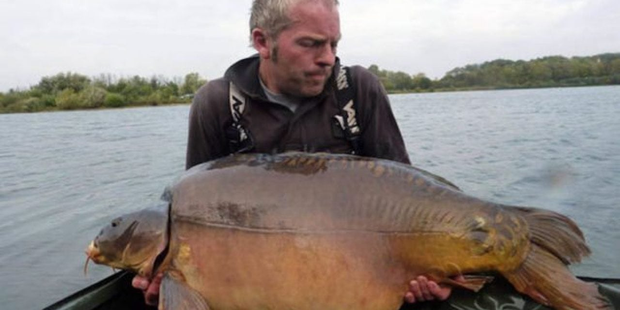 They're Calling This Fish the Biggest Carp Ever Caught in Britain