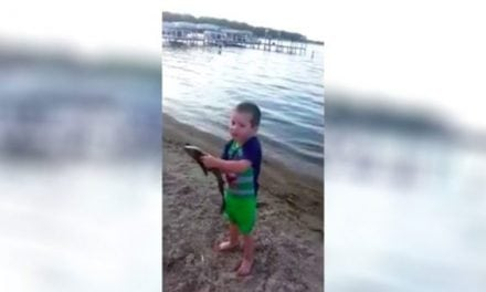 Video: This Kid Catching a Fish By Hand Will Leave You Smiling