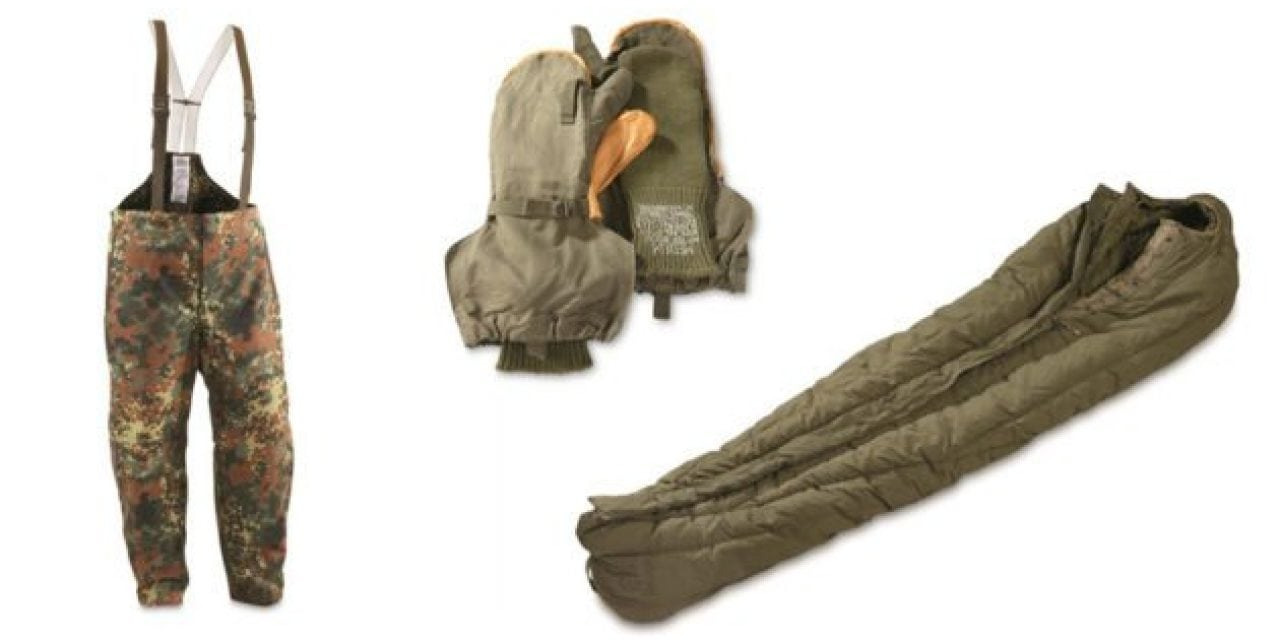 7 Awesome Military Surplus Items for Outdoorsmen