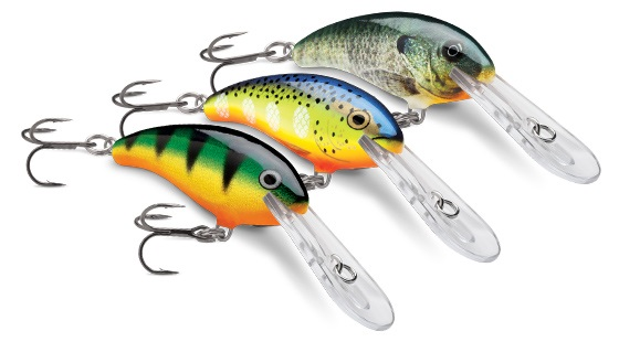Both bass and walleye will chomp a Shad Dancer