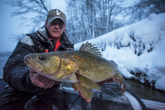 Cold water considerations for today s fishing season for Cold water bass fishing
