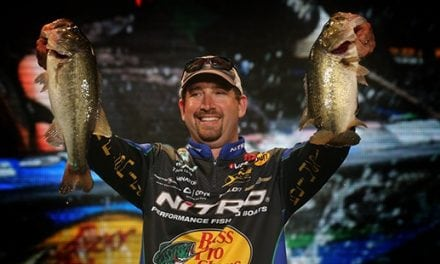 DeFoe Lands lunker on top-secret Storm Arashi Cover Pop in Bassmaster Classic