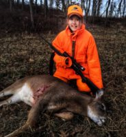 Girl's First Deer is a Lifetime Memory