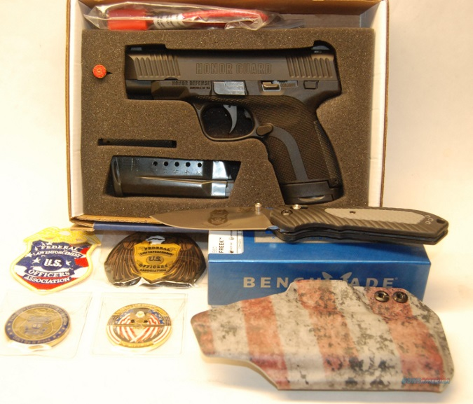 Honor Guard Pistol to be Auctioned in Support of Federal Law Enforcement Officers Foundation
