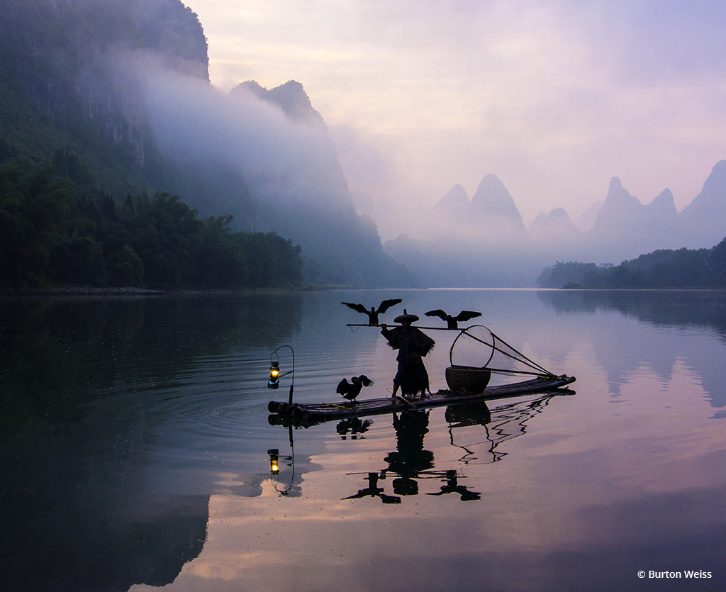 "Today's Photo Of The Day is ""Keeping Traditions Alive"" by Burton Weiss. Location: Li River, China."