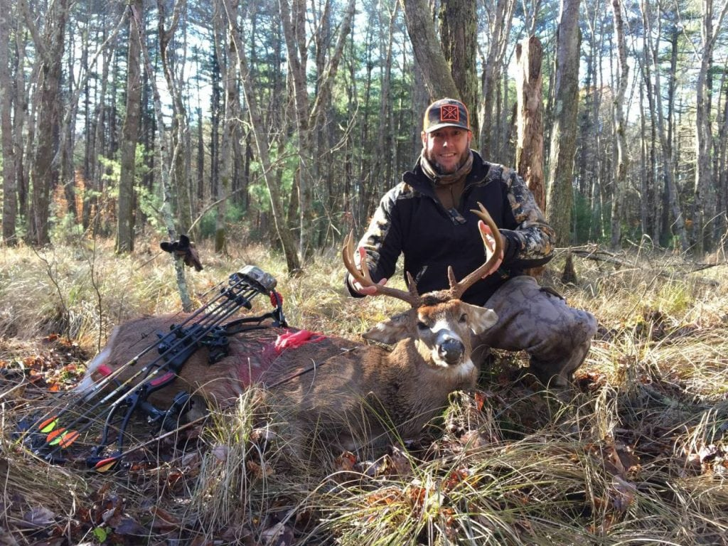 Tom Adams with his Thanksgiving Buck