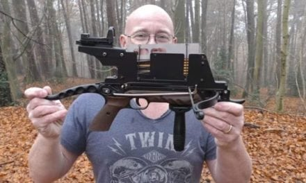 Video: Check Out This 10-Shot Pistol Crossbow Modification