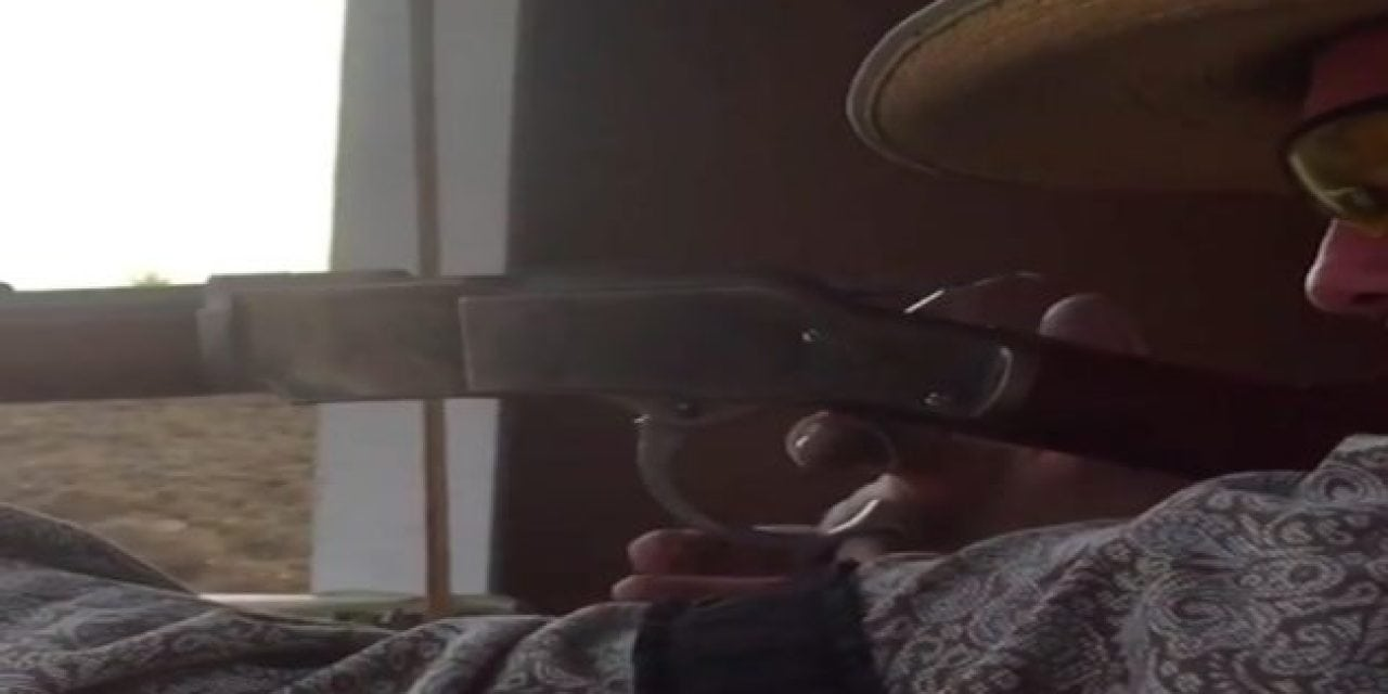 Watch: Have You Ever Seen Someone Shoot a Lever-Action Rifle This Fast?