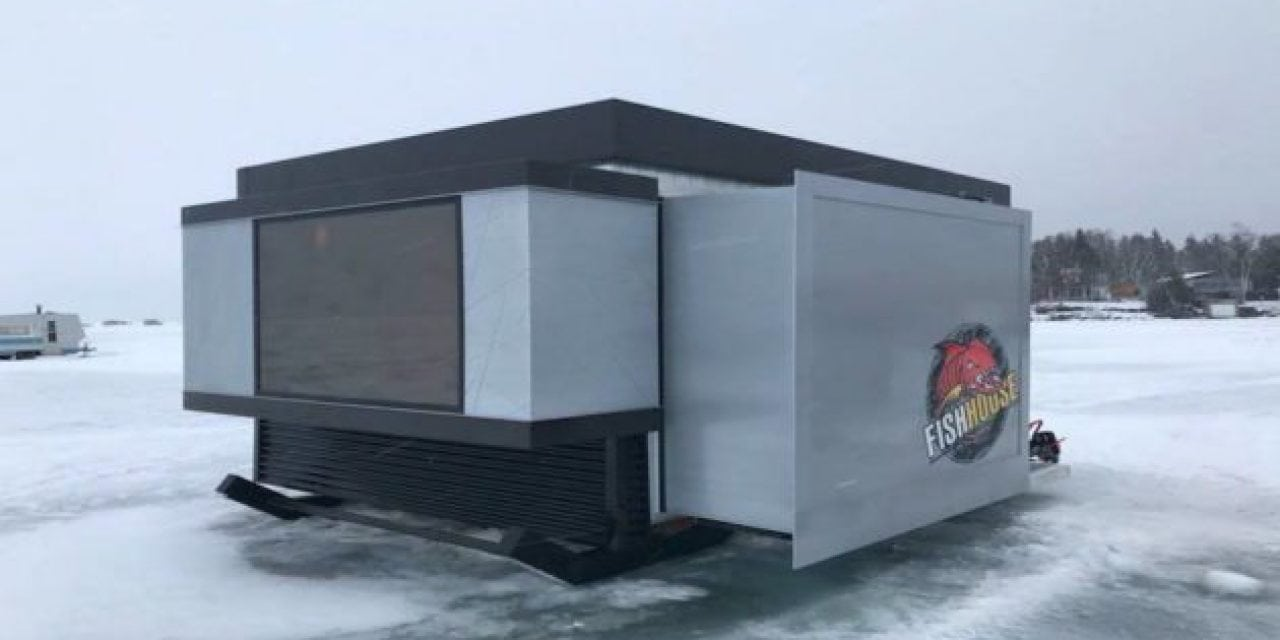 We Just Found Your New Ice Fishing Castle
