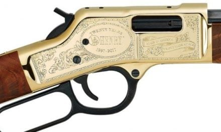 20th Anniversary Henry Rifles Auctioned for Charity