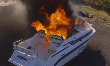 4 Fire Extinguisher Myths About A Boat Fire