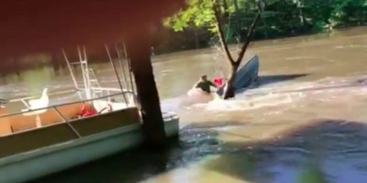 Bayou Boat Flip: Losing Some Gear Better Than Your Life